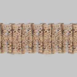5017PLI Entredós tipus boixet plisat