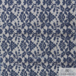 Cotton All over lace - INDIGO - IND5853