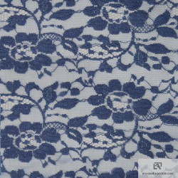 Cotton All over lace - INDIGO - IND5855