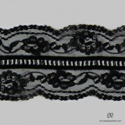 APRILE Polyester insertion lace