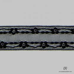 6027-2E Polyamide insertion lace