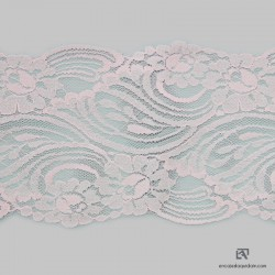 758S Polyamide scalloped lace