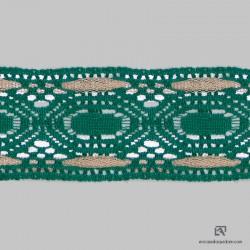 437 Dentelle polyester-coton