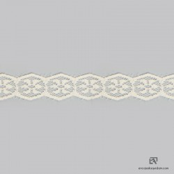 6026 - Polyamide scalloped lace