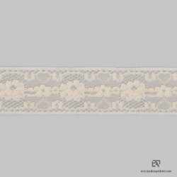 Cotton-polyamide insertion lace - 4101