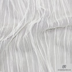 TULPLIS - Pleated tulle - Polyester