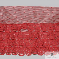 Polyester lace 130