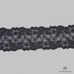 3022 - Polyamide scaloped lace stretch