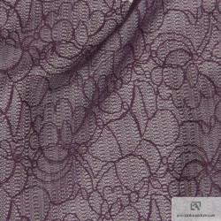 877-160 All over lace - Polyamide Lurex