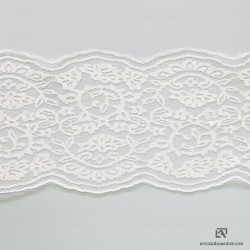 CATANIA 15 - Scaloped lace
