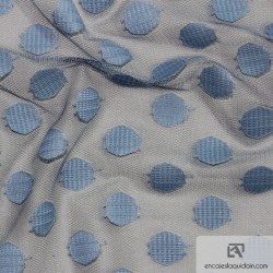 818-150 Polka dot all over lace